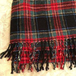 Jcrew Plaid scarf 🧣